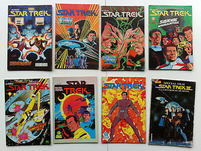 Star Trek, lot de comics vf n°2,3,4,5,6,7,8 et Star trek special
