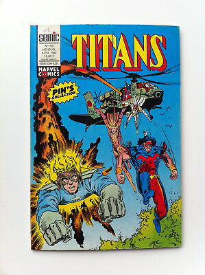 Titans 159 Semic avril 1992 Comics