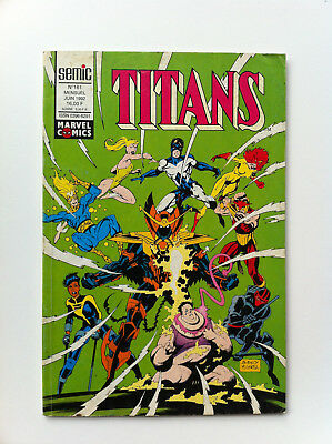 Titans 161 Semic juin 1992 Comics