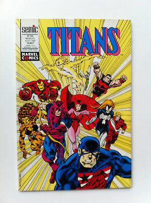 Titans 163 Semic aout 1992 Comics