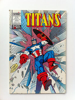 Titans 165 Semic octobre 1992 Comics