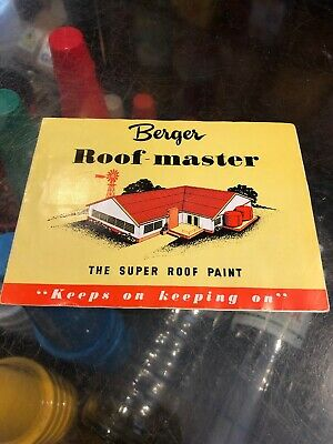 Berger Roof-Master Vintage Paint Chart
