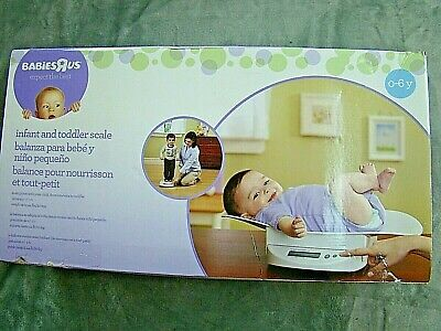 Babies R Us 2 in 1 Infant To Toddler Digital Scale #1974024 NEW