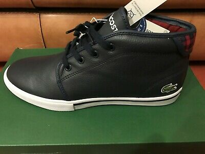 45b764a3c1 BASKETS LACOSTE HOMME Ampthill Terra Brown Leather - Chaussures ...