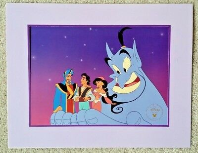 Disney's Aladdin and the King of Thieves 1996 Commemorative Lithograph