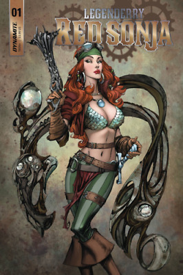 Legenderry Red Sonja #1 Cover A (2018) Dynamite Comics 1st Print  New