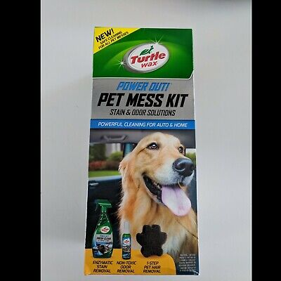 Turtle Wax 50692 Power Out Pet Mess Kit New Fast Shipping
