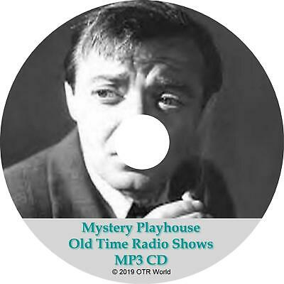 Mystery Playhouse Old Time Radio Shows 90 Episodes On MP3 CD