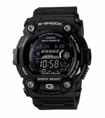 Casio G-SHOCK GW7900B-1 Digital TOUGH SOLAR TIDE Men's Watch | BLACK | AUTHENTIC