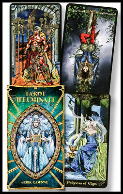 Tarot Illuminati 78 Card Deck + Instruction Booklet - Lo Scarabeo NEW!
