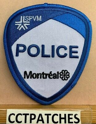 Montreal, Canada Police Shoulder Patch