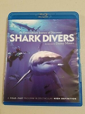 Shark Divers (Blu-ray Disc, 2012, single Disc Set) 4 parts on 1 disc