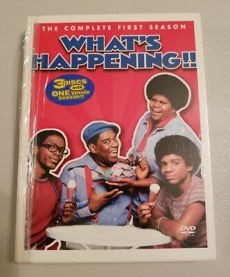 Whats Happening - The Complete First Season (DVD, 2004, 3-Disc Set) 1976 1977