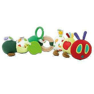NEW The Very Hungry Caterpillar Tiny Caterpillar Activity Toy - Baby Toy