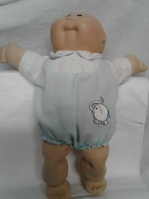 1984 newborn Cabbage patch baby preowned NO PAPERS original outfit signs of play