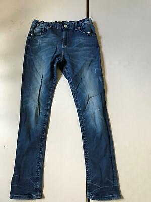 Kids River Island Skinny Fit  Light Wash  Jeans Blue Age 12 Years