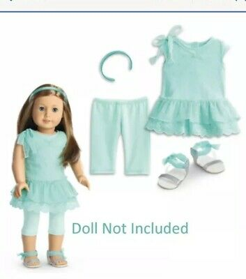 """American Girl TRULY ME SPRING BREEZE DRESS for 18"""" Dolls Outfit Clothes NEW"""