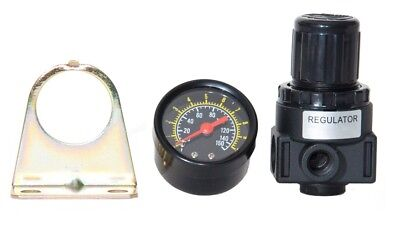 NEW Air Compressor Compressed Air Pressure Regulator W/ gauge,1/8 NPT Ports