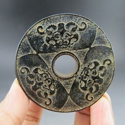 Chinese ,jade, noble collection,Hongshan culture, jade,dragon,choi,pendant R089