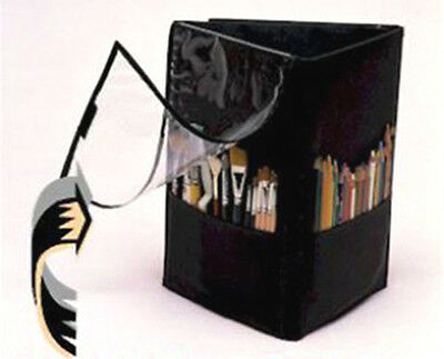 *NEW* Canvas Collectibles TriFold Insert StandUp Storage, Velcro, Black, 10009