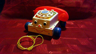 Fisher Price Chatter Telephone (© 1961 Fisher Price Toys)