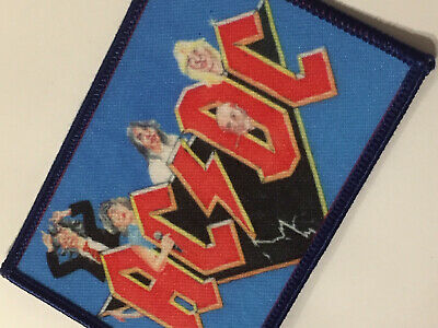 AC/DC Comic Patch Aufnäher Sticker - Brian or bust - RIP Malcolm - Fan Club LE