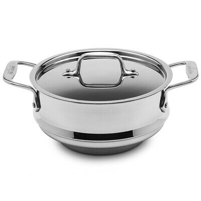 NEW All-Clad Multi-Fit Steamer with Lid