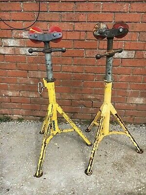 PAIR Sumner Roller Pipe Stands 1140kg Max Height 1.2m FREE SHIPPING