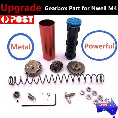 2019 NWell M4 Upgrade Metal Gearbox Part for M4A1 Water Gel Ball Blaster Mod Toy