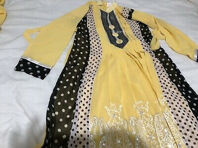 Asian/Pakistani Party Wear/ Wedding/ Bridal Dress/Outfit/Indian Anarkali Suit