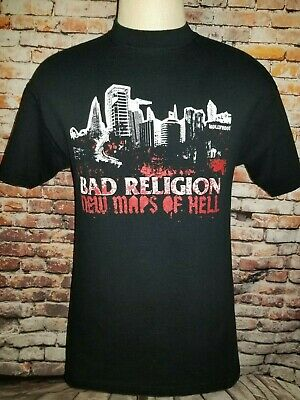 "Bad Religion T Shirt ""New Maps of Hell "" Size M/L"