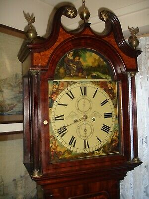 William Young Of Dundee 8 Day Longcase Clock Early 19Th Century