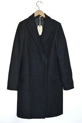 *STUNNING* AllSaints Ladies Oversized Woolen SENTAI Coat LARGE UK8 US4 EU36