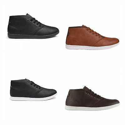 Kids/Junior Soviet Whitehall Mid Boots Shoes Lace Up Ankle Chukka Style Fashion