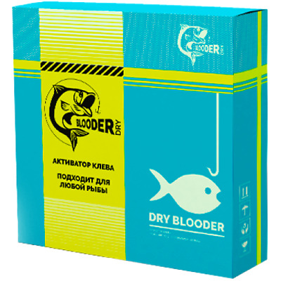 Dry Blooder - Bait Activator for Successful Fishing Attract . Original 100%