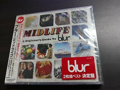 Blur - Midlife : A Beginner's Guide To Blur Japanese 2CD / TOCP-70800-0 / Sealed