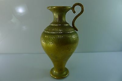 RARE OLD GREECE LALAOUNIS HALLMARKED SOLID 900 SILVER 218 GRAMS 17 cm.TALL VASE
