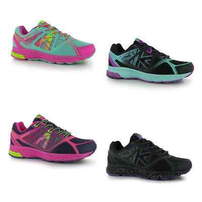 Kids/Girls Karrimor Tempo 4 Running Walking Shoes Trainers Lace Up Soft Inner
