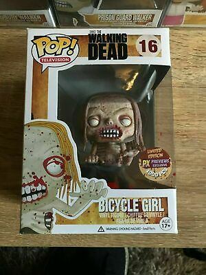 The Walking Dead - Bloody Bicycle Girl PX Exclusive 1000pcs Funko Pop!
