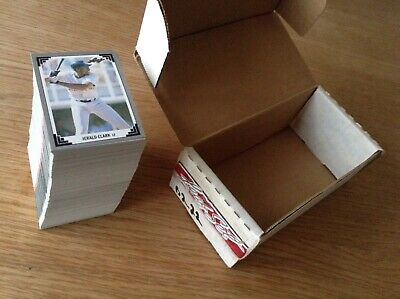Complete Set 1992 Leaf MLB Baseball Trading Cards