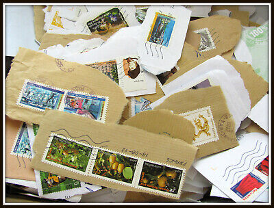 **Lot 50 Timbres Obliteres France A Trier Et Decoller**
