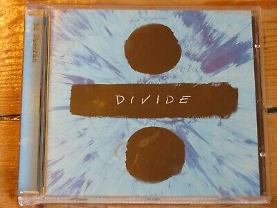 ED SHEERAN Divide CD (Galway Girl/Shape of You/Castle on the Hill etc) (÷ x +)