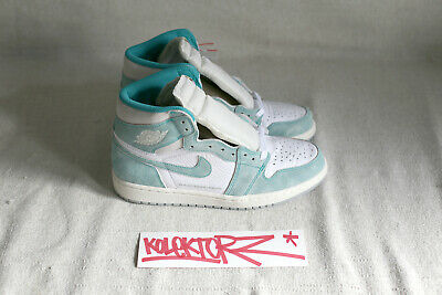 official photos 07e17 aeaf0 Nike Air Jordan 1 Retro High Og Flight Nostalgia Turbo Green 9Us 42.5 Tz Qs  Aj1