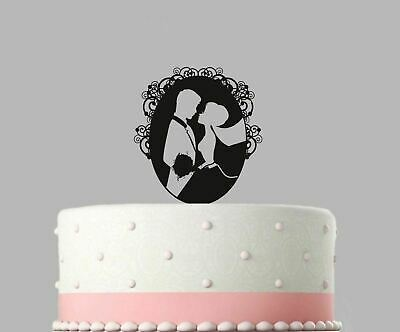 Wedding Acrylic Cake Decoration Wedding Bride and Groom Topper.387