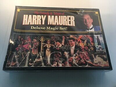 The Comedy & Magic of Harry Maurer - Deluxe Magic Set - New