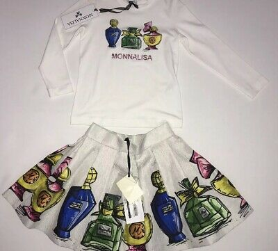 Monnalisa girls outfit BNWT RRP £264 🔥🔥🔥🔥