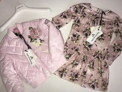 Monnalisa girls outfit BNWT RRP £334 ‼️‼️NOW £167 ‼️‼️