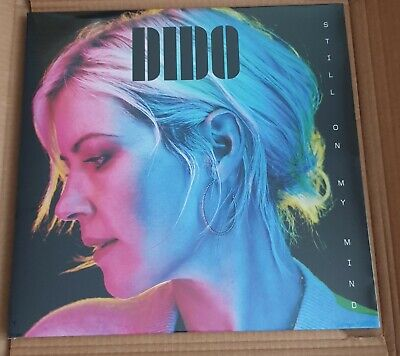 "DIDO - STILL ON MY MIND  BLUE VINYL,12"" x 12"" SIGNED PRINT , NEW & SEALED"