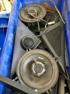 Isuzu Trooper Speakers - Front Rear - Used - Mk2 Mk3 Mk4 3.0 3.1 2.6 2.8