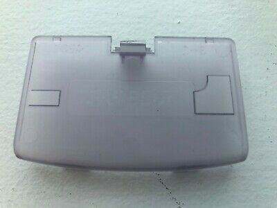 New Glacier Clear Purple Battery Cover Game Boy Advance - GBA Replacement Door